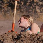 kąpiel w piasku