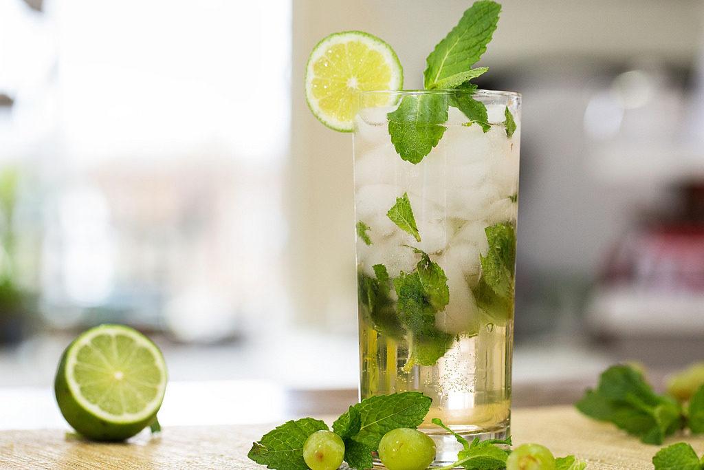 zielona herbata mohito
