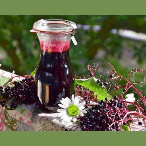 Jak działa syrop z kwiatów czarnego bzu?